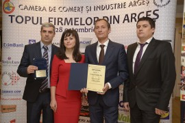 FILDAS Trading, Ist place on the Top of the Companies in Arges county