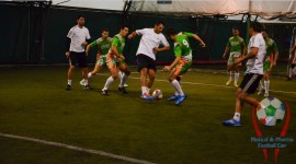 The football team Catena Racing Team, first appearance at Medical&Pharma Football Cup 2014