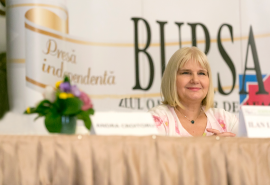 """Anca Vlad at """"Bursa"""" Conference: The Decisions of Female Entrepreneurs Are Based on Both Intuition and Reason"""