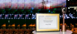 Anca Vlad was granted the Excellence Award in Entrepreneurship offered by Capital magazine